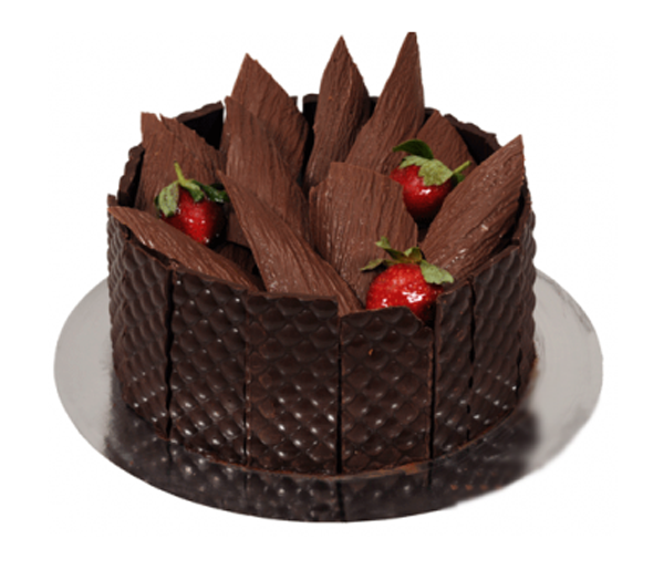 Chocolate Cake  Wood Box